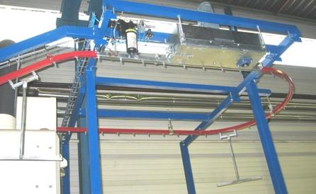 Convoynort - Overhead monorail chain conveyor - 1200 Series