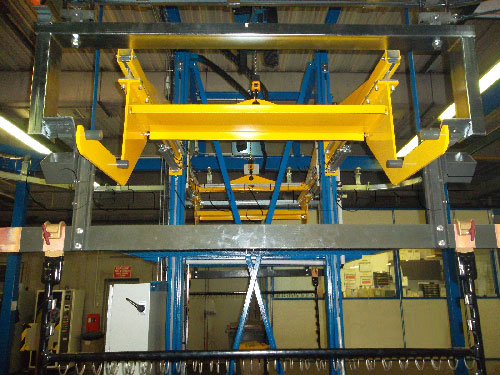 Convoynort - Special machine - Lifting device with 2 functions